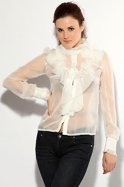 Блузки В Стиле Шанель