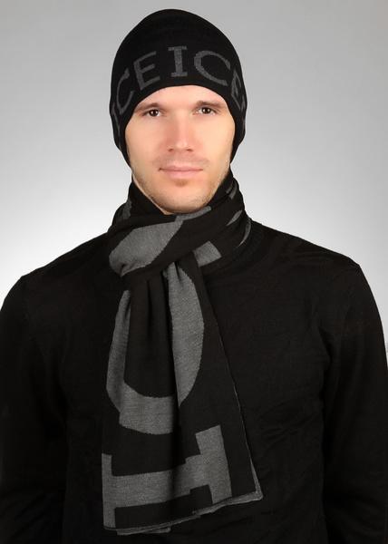 Мужские белые шарфы 2